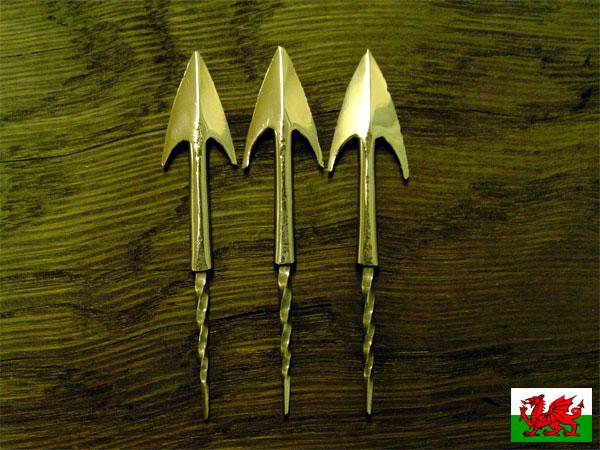 Как сделать наконечник для стрел лука